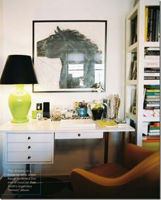 Five steps to organizing your home office. Lonny Mag