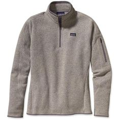Patagonia Women's Better Sweater™ 1/4-Zip ($99) ❤ liked on Polyvore