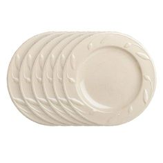 I pinned this Campania Round Laurel Salad Plate in Ivory from the Sorrento Collections event at Joss and Main!