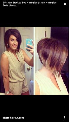 For Those Who Are Looking For A Classic Short Haircut With A Trendy Twist,  Here Is 35 Short Stacked Bob Hairstyles.