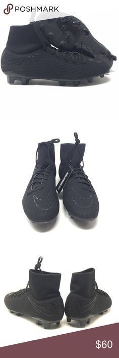 4d80666f89 NIKE HYPERVENOM PHELON 3 DF FG 917764 001 Soccer Cleats Size 10 Great Item!  Next Day Shipping! Returns Accepted! All our shoes that ...
