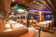 Imagination dining room on the Carnival Elation.  For more information: ASPEN CREEK TRAVEL - karen@aspencreektravel.com