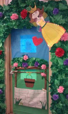 Fairy tale ball door