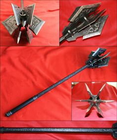 Sauron's mace (not movie design) by Kaaile on deviantART