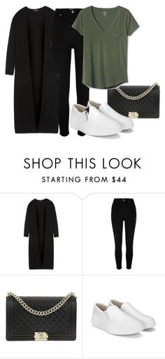 """hjnb"" by v-askerova on Polyvore featuring мода, Theory, River Island, Chanel и Gap"