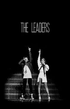 The leaders CL & GD