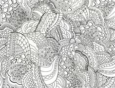 Detailed Coloring Pages For Adults | byrds words: Coloring Books for Grown-ups