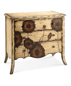 Take a look at this Antique Cream Chest today!