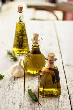 Infused Olive oils. Chez Zizi