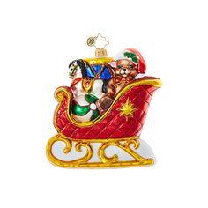 Christopher Radko Ornaments | Radko Sleighs I Can Bearly Wait! 1018914