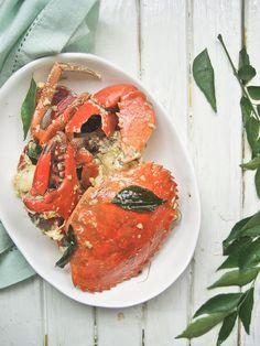 Malaysian Butter Crabs Recipe
