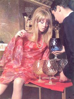 "justpattieboyd: "" Scan by: Pattie Boyd's Sixties Style @ Yahoo! """
