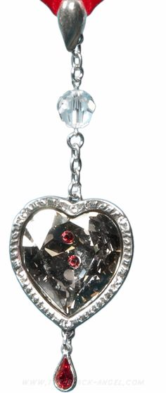 'Love after Death' vampire necklace by Alchemy Gothic.