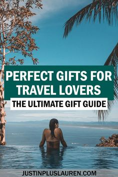 This is the ultimate guide to the best travel gifts for that travel lover in your life. Perfect, practical, and useful travel gifts for all budgets. Cute travel gifts | Unique travel gifts | Travel gifts for women | Travel gifts for men | Travel gift guide | Cheap travel gifts | Useful travel gifts | Gifts for world travel | Travel presents | Awesome travel gifts | Perfect travel gifts | Gifts for travel lovers | Solo female travel gifts | Top gifts for travelers | Christmas gifts for travel