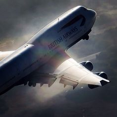 British Airways Boeing B747