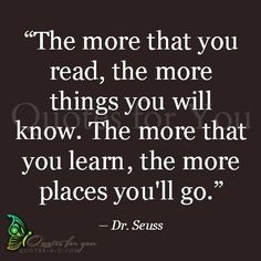 Dr Suess...