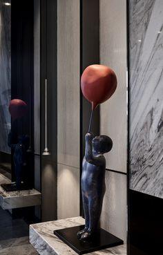 现代都市样板间,开启生活美学新标杆 | 博思韦珥 -建e室内设计网-设计案例 Sculpture Art, It Works, Nailed It