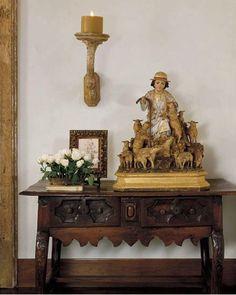 <3 - #Tuscan #Home #Design - Find More Decor Ideas at:  http://www.IrvineHomeBlog.com/HomeDecor/  ༺༺  ℭƘ ༻༻  and Pinterest Boards   - Christina Khandan - Irvine California