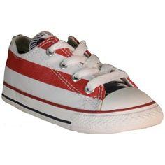 69fd66ad43 Converse - CT PRINT OX S Chaussures de sport America drapeau rouge bleu bl