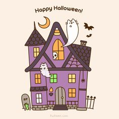 Post with 17 votes and 1134 views. Tagged with halloween, pusheen; From pusheen Art Halloween, Halloween Contacts, Kawaii Halloween, Halloween Pictures, Happy Halloween, Halloween Quotes, Halloween Witches, Halloween Decorations, Gato Pusheen