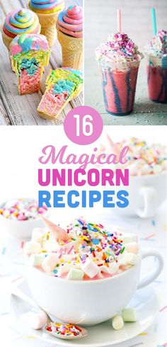 16 Magical Unicorn Recipes You Can Make At Home