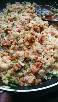 breakfast fried rice...