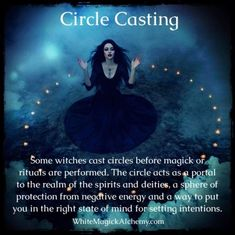 Wiccan Spell Book, Wiccan Witch, Magick Spells, Wicca Witchcraft, Witch Spell, Circle Cast, Witch Quotes, Witch Board, Witchcraft For Beginners