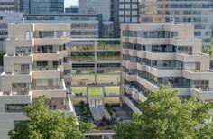 OpZuid Amsterdam - BNA Beste Gebouw van het Jaar 2015. Luxe appartementen.