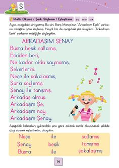1. Sınıf Konu Anlatım SES FASİKÜLLERİ Turkish Lessons, Learn Turkish, Grade 1, Learning, Books, First Grade, Libros, Studying, Book