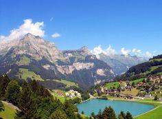 Gondola ride up to Mt. Titlis in Switzerland
