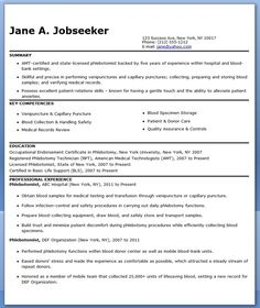 phlebotomist resume sample free resume templates worddesign templatesphlebotomycreative