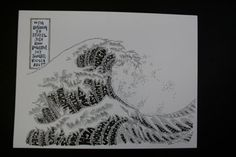 The Great Wave of Thoughts