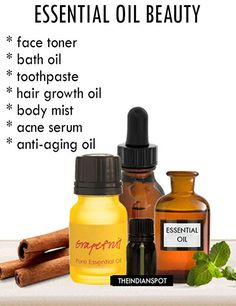 10 Best Ways to use essential oils in your beauty regimen