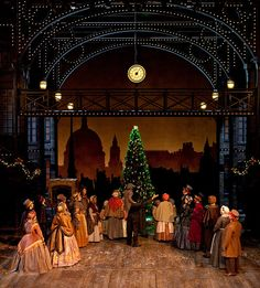 a christmas carol set designs | Christmas Carol | Flickr - Photo Sharing!