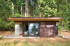 Cabane moderne dans les bois - #blogdéco #factorychic