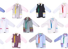 LINO is a kid's apron . Every one is unique and 100% made in Italy. aquapotabile.com