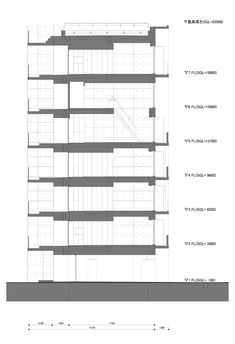 Apartment in Katayama ~ Elevation, Section and Floor Plans   WHAT WE DO IS SECRET