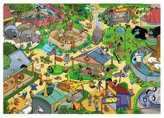 Praatplaat dierentuin voor kleuters / Zoo