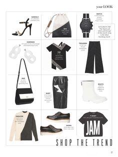 InStyle magazine featuring the AW15 Lisu Dress