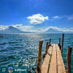 #Follow @kaltham: Looking out over #Lake #Atitlan #Guatemala #ILoveAtitlan #AmoAtitlan #Travel #Volcano #LakeAtitlan #LagoAtitlan http://OkAtitlan.com