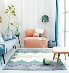 Gezellig kleurrijk interieur