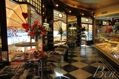 TEA. Mauri. Provença, 241.This quintessential pastry and tearoom retains its nineteenth century charm in Rambla de Catalunya.