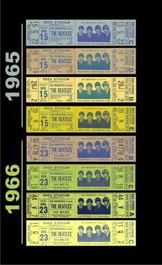 900 The Beatles Ideas In 2021 The Beatles Beatles Vintage Concert Tickets