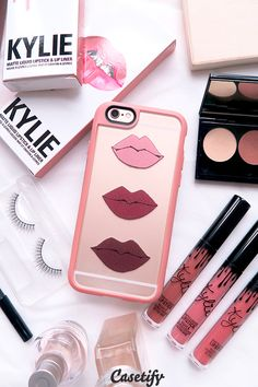 Click through to see more lipstick iPhone 6 phone case designs. It's the National lipstick day! >>> https://www.casetify.com/collections/iphone-6s-lipstick-cases#/?device=iphone-6s | @casetify