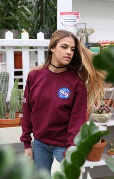NASA Oxblood Sweatshirt Long