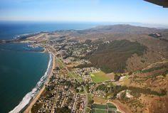 San Mateo County coastline