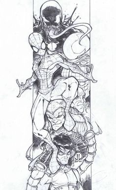 Spiderman and Baddies Final by JoeyVazquez on deviantART