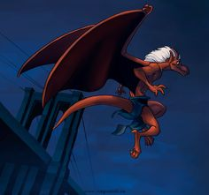 """""""Brooklyn"""" ~ by weremagnus In """"Gargoyles"""" (The animated series) Brooklyn is a member of the Manhattan Clan, who after being petrified for a thousand years, are reawakened in New York City. Gargoyles Cartoon, Disney Gargoyles, Gargoyles Brooklyn, Dragon Images, 90s Cartoons, Kids Shows, Animation Series, Movie Characters, Manga"""