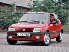Peugeot 205 1.6 GTI Worldwide '09.1983–02.1992