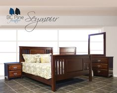 Seymour Bedroom Solidwood Pine Bcpine Canadianmade
